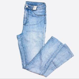 H&M Super Skinny High Waist Jeans Light Wash